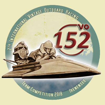 Die 7th Official 152VO Vintage Outboard Racing Team Competition 2018