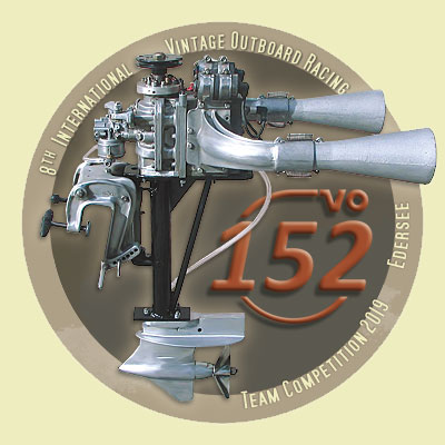 Die 8th Official 152VO Vintage Outboard Racing Team Competition 2019