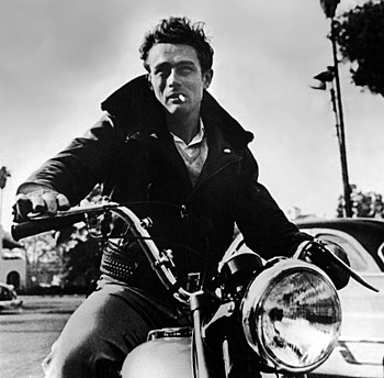 James Dean, rebellisches Jugendidol der 50er