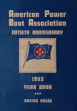 APBA: Year Book and Racing Rules 1953