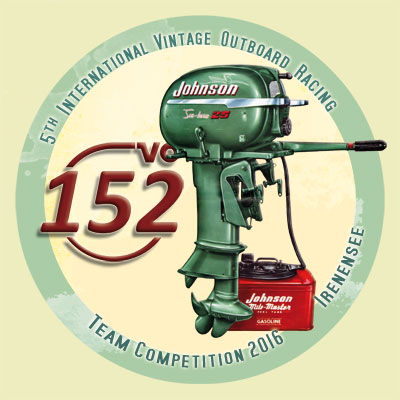 Die 5th Official 152VO Vintage Outboard Racing Team Competition 2016