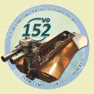 Die 6th Official 152VO Vintage Outboard Racing Team Competition 2017