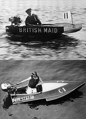 British Maid (1928) und Blue Streak (1929)